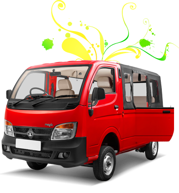 Tata Magic 4 Wheeled Public Passenger Vehicle With 6 To